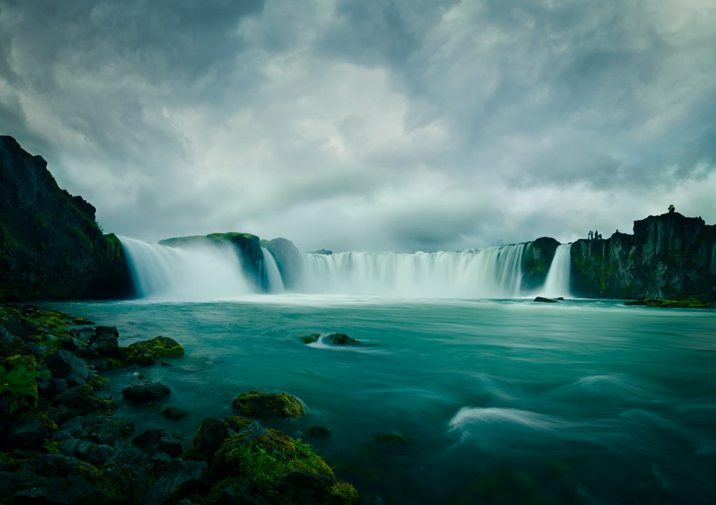 Godafoss waterfall in iceland photo by Todd Antony