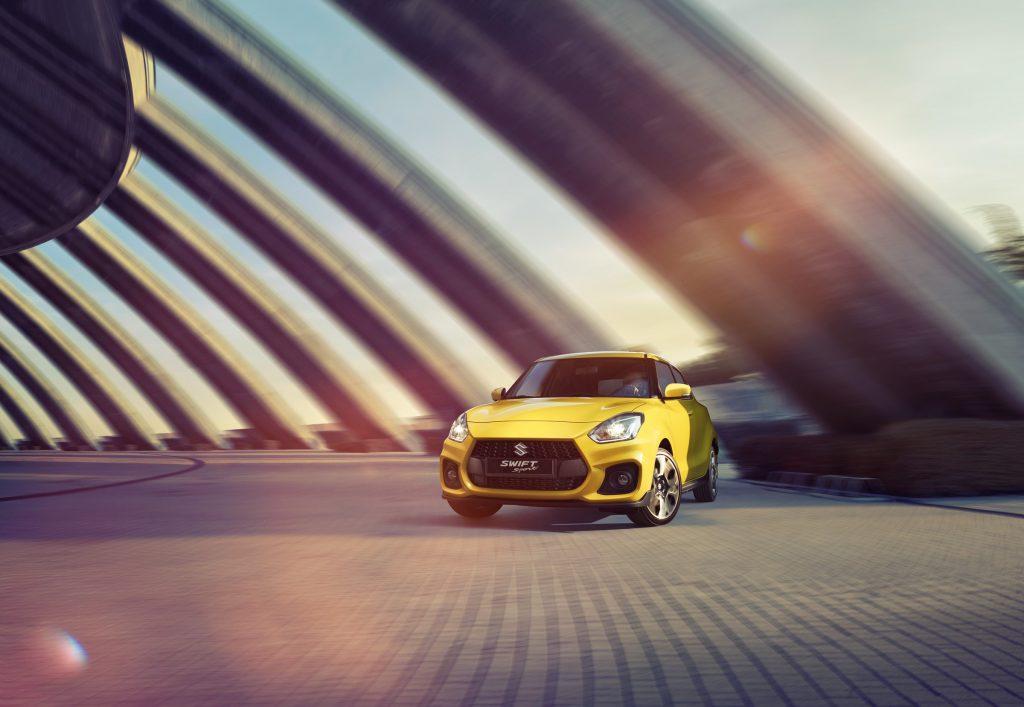 Suzuki car driving photo by Todd Antony
