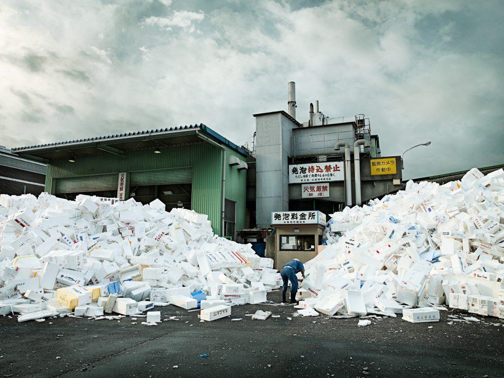 Tsukiji fish market in Tokyo Japan photo by Todd Antony