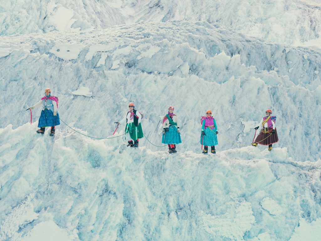 "Cholitas Escaladoras"" summit Aconcagua and make history for Indigenous  women - Alpinist.com"